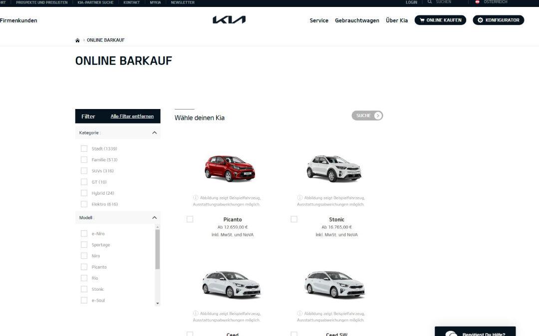 KIA-Online Sales